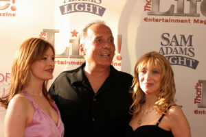 Holly Perkins - Arthur Nascarella - Maureen Van Zandt at Remedy Film Premiere