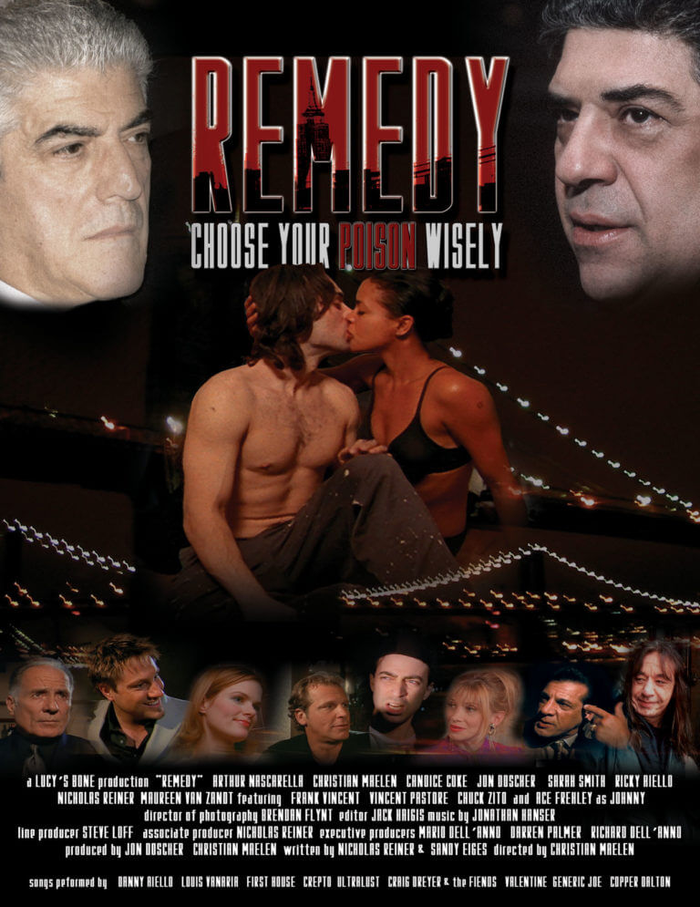 Remedy movie poster