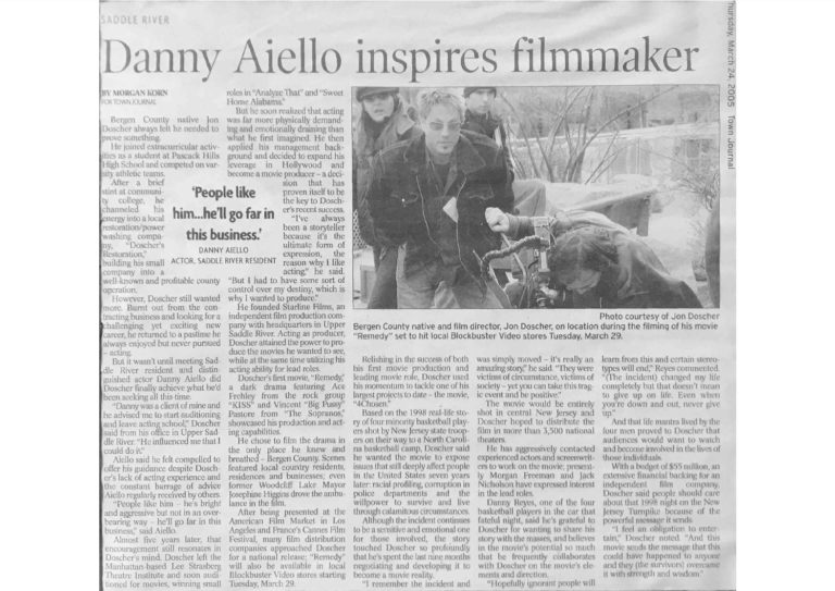 Danny-Aiello-inspires-filmmaker